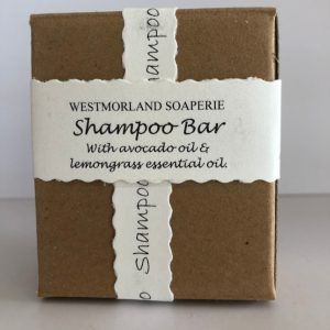 Shampoo Bar with Avocado oil & Lemongrass essential oils - Palm Oil Free by Westmoorland Soaparie
