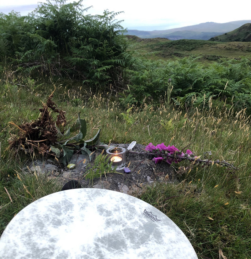 Guided Meditation with the Medicine Garden in Cumbria
