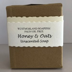 Honey & Oat Uncented Soap - Palm Oil Free by Westmoorland Soaparie