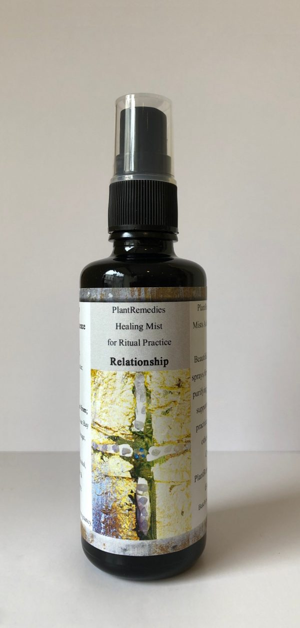 Relationship Healing Mist for Ritual Practices - Room Spray - Sacred PlantRemedies Essence