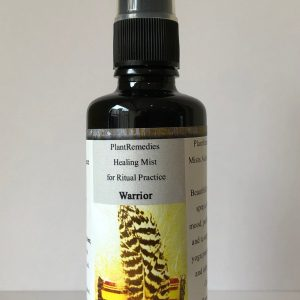Warrior Healing Mist for Ritual Practices - Room Spray - Sacred PlantRemedies Essence